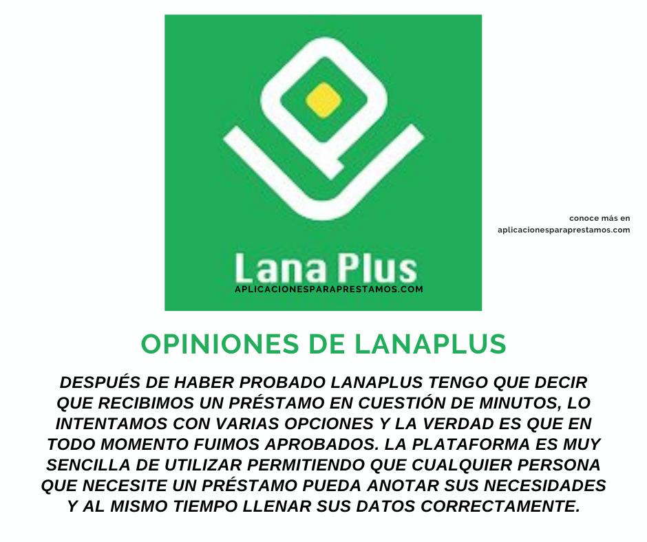 Opiniones de LanaPlus