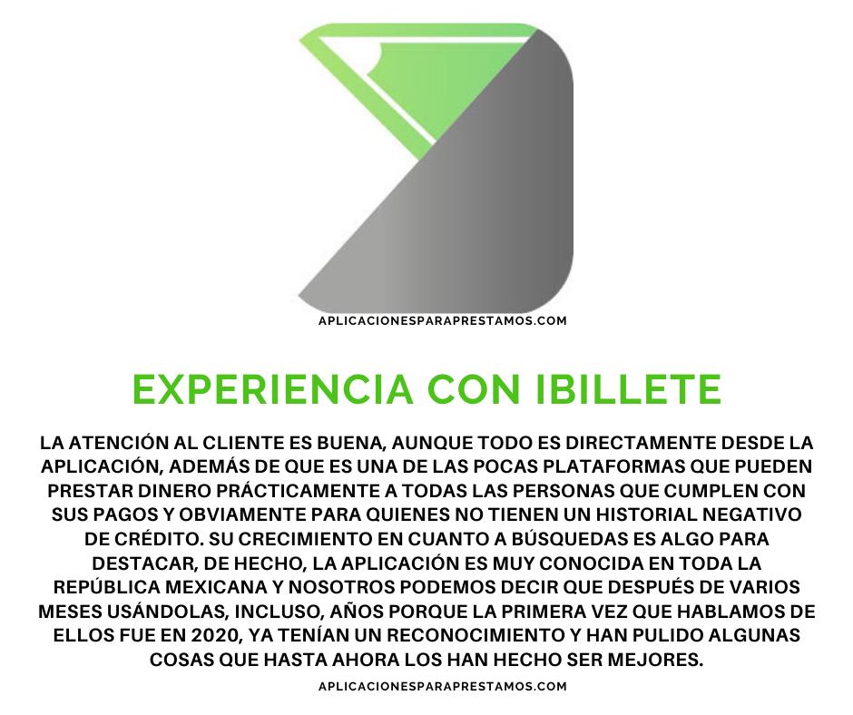 experiencia de iBillete